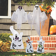 Halloween Ghost Family Yard Decorations