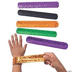 Halloween Glitter Slap Bracelets