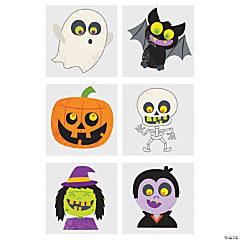 Halloween Glitter Temporary Tattoos