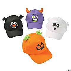 Halloween Icons Cap Assortment