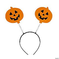 Halloween Jack-O'-Lantern Head Boppers