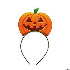 Halloween Jack-O'-Lantern Headbands