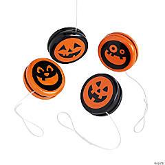 Halloween Jack-O'-Lantern YoYos