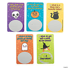 Halloween Joke Scratch-Off Cards