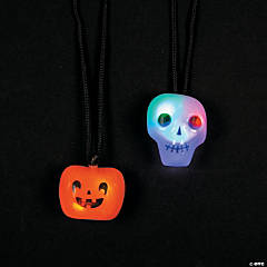 Halloween Light-Up Necklaces