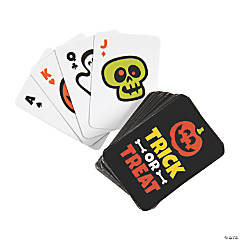 Halloween Mini Playing Cards