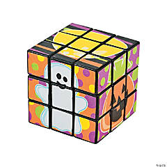 Halloween Mini Puzzle Cubes
