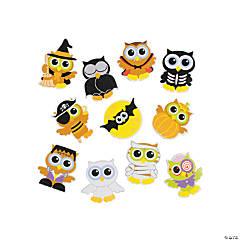Halloween Owls Self-Adhesive Shapes