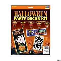 Halloween Party Decorating Kit