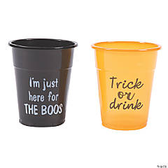 Halloween Party Plastic Cups
