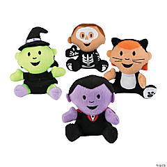 Halloween Plush Characters in Costume