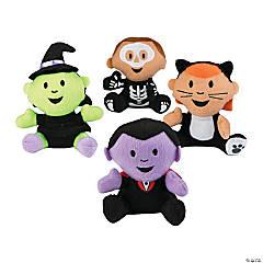 Halloween Plush Characters in Costume