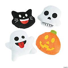 Halloween Plush Emojis - 12 Pc.