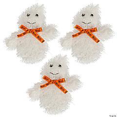 Halloween Plush Ghosts - 12 Pc.