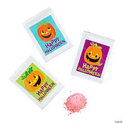 Halloween Popping Hard Candy with Stickers - 36 Pc.