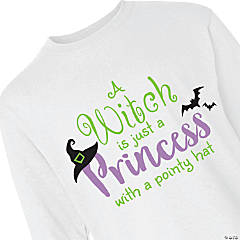 Halloween Princess Youth Long Sleeve T-Shirt - Large