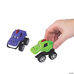 Halloween Pull-Back Monster Trucks
