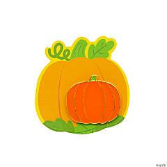 Halloween Pumpkin Pins with Card