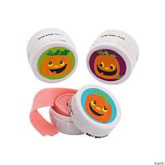 Halloween Pumpkin Tape Roll Gum Kit