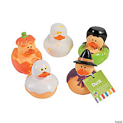 Halloween Rubber Duckies PDQ