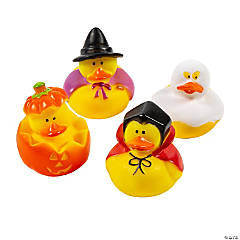 halloween rubber duckies
