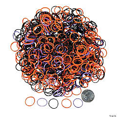 Halloween Rubber Fun Loop Assortment Kit