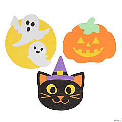 Halloween Shapes Sand Art Pictures