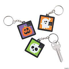 Halloween Slide Puzzle Keychains