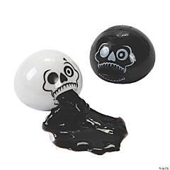 Halloween Slime Sucker Skull Toys