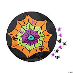 Halloween Spider Web Splat Game