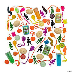 Halloween Sticky Toy & Slime Assortment