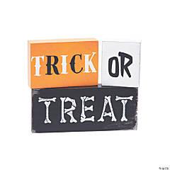Halloween Tabletop Blocks