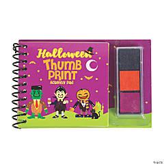 Halloween Thumbprint Activity Books