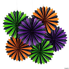 Halloween Tissue Hanging Fans