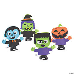 Halloween Wind-Up Monster Toy Craft Kit