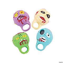 Halloween Zombie Squeeze Rings