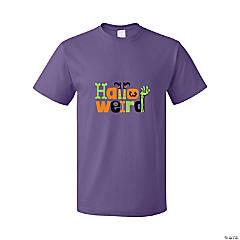 Halloweird Adult's T-Shirt - Medium