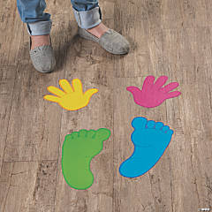 Hands & Feet Floor Decals
