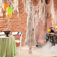Hanging Cobweb Mummy Halloween Decoration