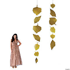 Hanging Leaf Decorations
