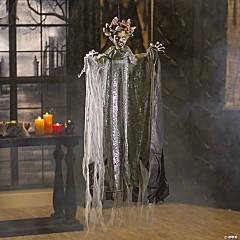 Hanging Medusa with Lights & Sound Halloween Decoration