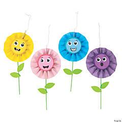 Hanging Paper Fan Flower Craft Kit