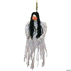 Hanging Skeleton in Pajamas Halloween Decoration