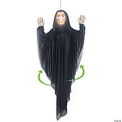 Hanging Spinning Reaper Halloween Decoration