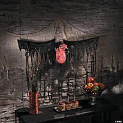Hanging Vulture Halloween Decoration