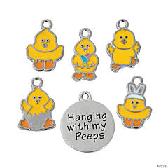 Hanging with My Peeps Charms