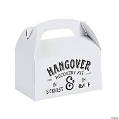 Hangover Rescue Wedding Favor Boxes