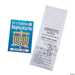Hanukkah Activity Books
