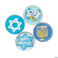 Hanukkah Bouncy Balls