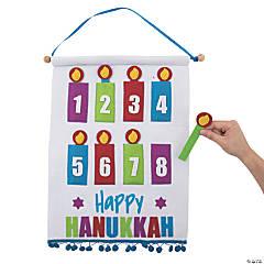 Hanukkah Countdown Calendar